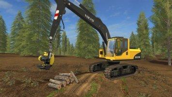 Volvo EC210B Forest FS17