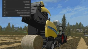 Automatic unload for round-balers v1.1.0.24