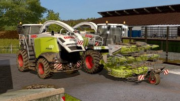 Claas Jaguar 900 Series Type 497 FS17
