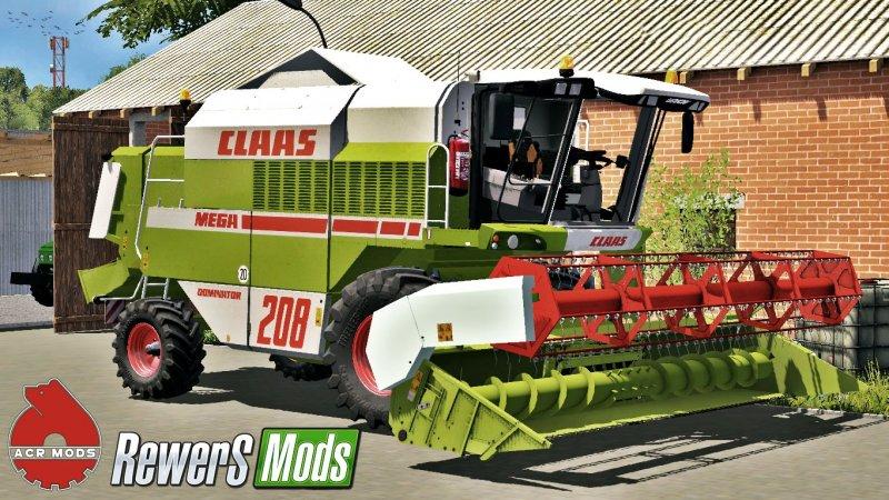 Claas Mega 208 v1.1 FS17