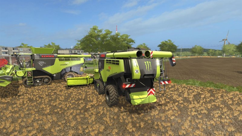 Etwas Neues genug Class Lexion 795 Monster Edition - FS17 Mod | Mod for Farming @WE_71
