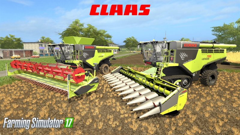 Fabelhaft Class Lexion 795 Monster Edition - FS17 Mod | Mod for Farming #FJ_16
