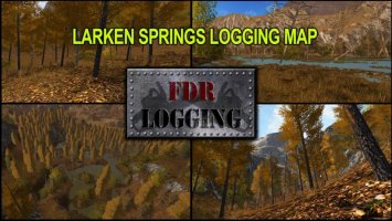 Larken Springs Logging Map