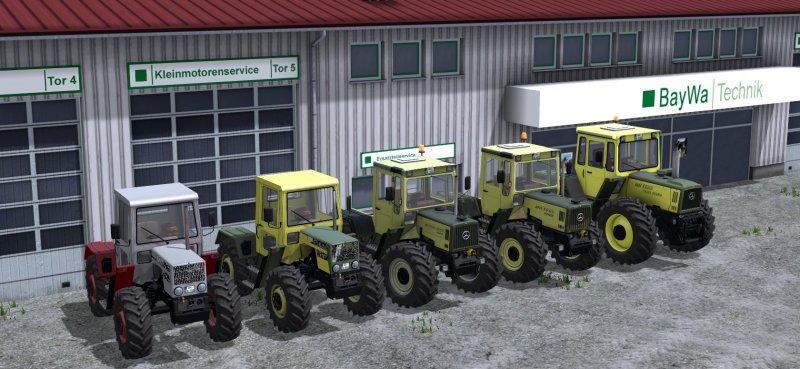 MB Trac Pack - FS17 Mod   Mod for Landwirtschafts Simulator