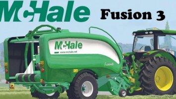 McHale Fusion 3 Baler Wrapper Combo FS17