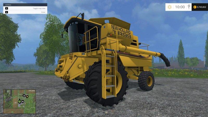 New Holland TR99 v1.4.2 LS15