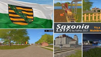 Saxonia für LS17 v2.2