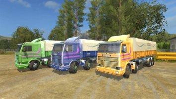 Scania 113 Series Dump Bitruck v1.1
