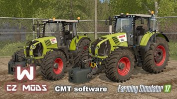 Claas Arion 600 & Axion 800 Series