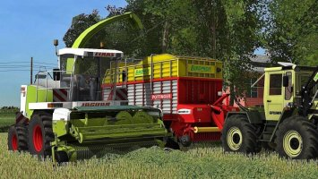 Claas Jaguar 880 Full Pack FS17
