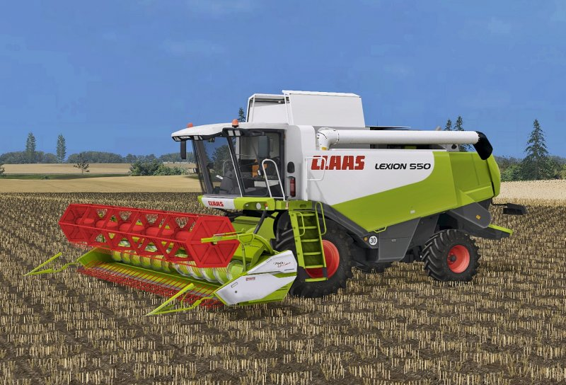 Claas Lexion 550 Pack - FS17 Mod | Mod for Farming Simulator