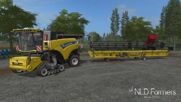 New Holland CR10.90 Combine Pack v1.2 FS17