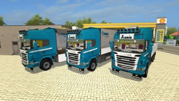 Scania R730 Gallinger Krone Edition