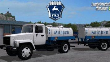 GAZ 3309 Milk and Water