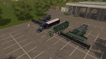 Harvesters, Trucks, Trailers, Headers Pack v4