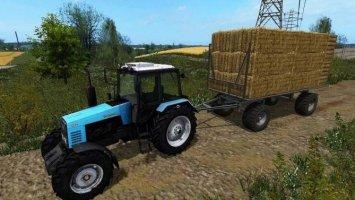 HW80 staw wagon UAL FS17