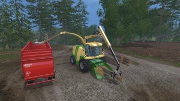 Krone Big X 1100 Crusher v1.5 FS17