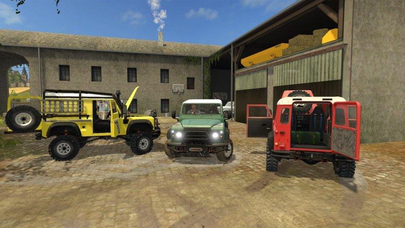Land Rover Defender 90 Fs17 Mod Mod For Farming