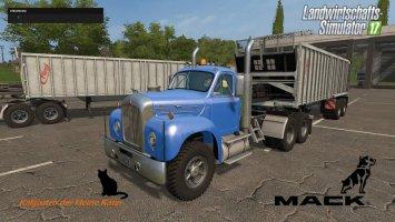 Mack Truck und Trailer Set