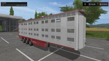 Michieletto livestock trailer v1.1 FS17
