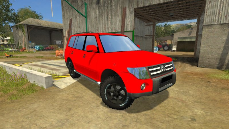mitsubishi pajero fs17 mod mod for farming simulator 17 ls portal. Black Bedroom Furniture Sets. Home Design Ideas