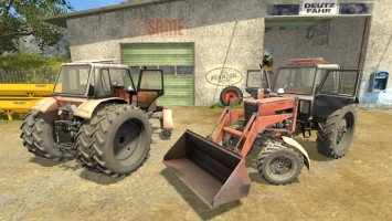 MTZ-82 Belarus FL Updated FS17
