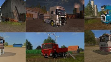 Scania Trucks Pack FS17