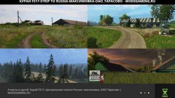 4 MAPS IN ONE: KURAI, MAXIMOVKA, TARASOVO, MIDDLE BAND OF RUSSIA V 0.0.2 BETA-TEST