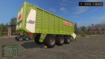 Claas Cargos 9600 FS17
