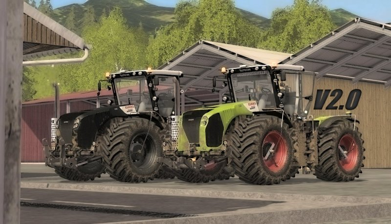 CLAAS XERION 4500/5000 V2.0 FINAL FS17