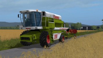 Contest - Claas Mega 208 pack FS17
