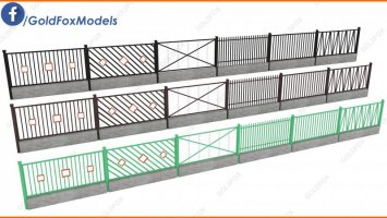 Fences pack 4