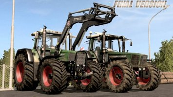 Fendt Favorit 800 Series V3.1 Final Fix fs17