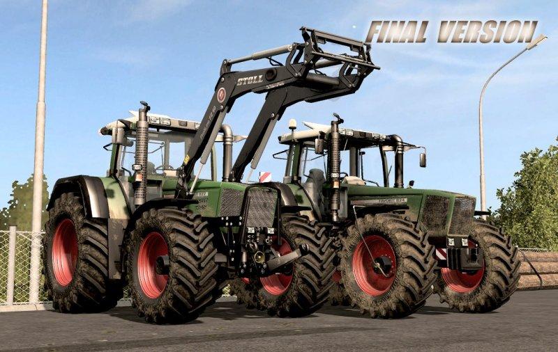 Fendt Favorit 800 Series V3.1 Final Fix FS17