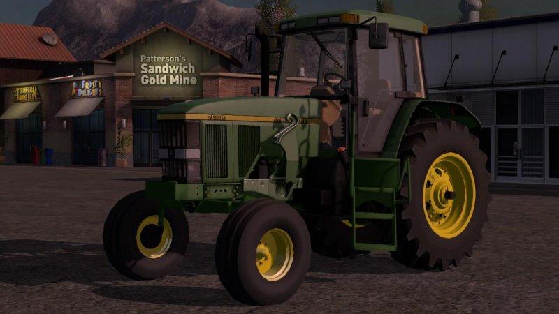 John Deere 7800 American Version FS17