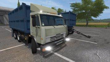Kamaz 45143 + Nefaz trailer FS17