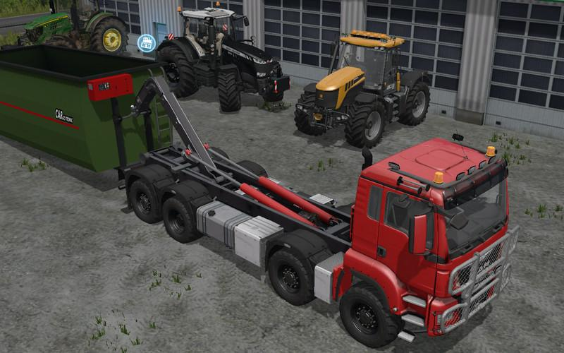 MAN TGS 6x6/8x8 with HKL System v5.3 FS17