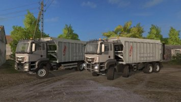 MAN TGS WITH FLIEGL EXTENSION V4.1 FS17