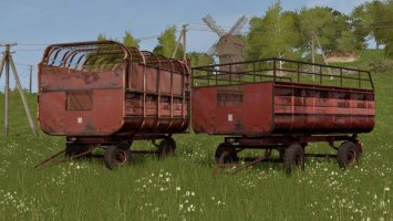 PTS Furgon Pack FS17