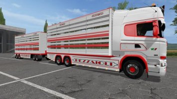 Scania R730 animal transports v2.1 FS17