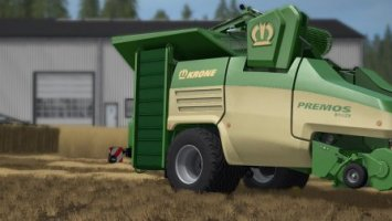 Straw harvest - new FS17 addon NEWS