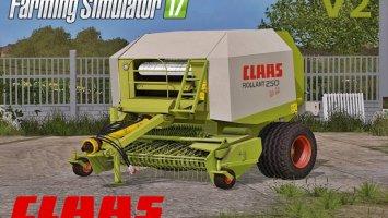 Claas Rollant 250 Rotocut v2 FS17