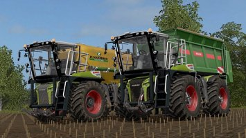 Claas Xerion 4000 Saddle Trac Full Pack