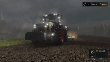 Claas Xerion with Kaweco Double Twin Shift v1.1.7.0 FS17