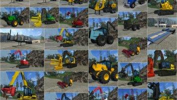 FDR Logging Mods pack FS17