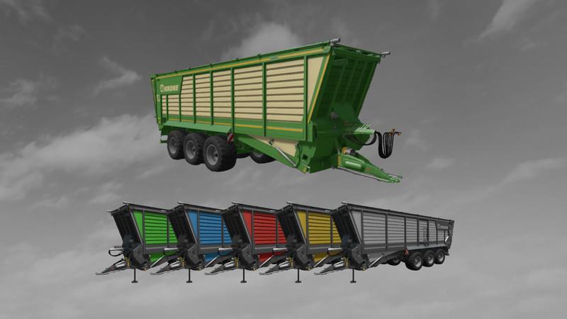 Krone TX 560 D More Realistic v2 FS17