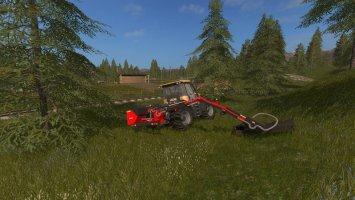 Kuhn boom mower FS17