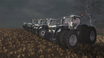 Massey Ferguson 8700 Black Edition FS17