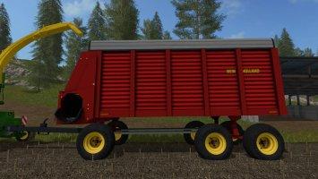 New Holland Forage Wagon