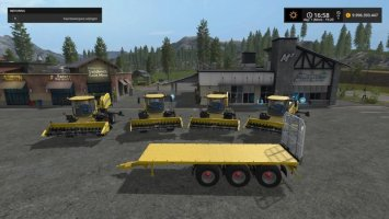 NLD New Holland Bale Press Pack FS17